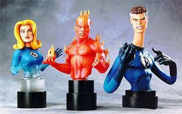 Bowen Designs Fantastic Four Triple Pack Mini Busts